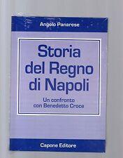 storia del regno di napoli - angelo panarese - capone editore -