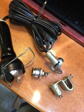 FORD GPW WILLYS MB JEEP G503 M38 M38A1 M170 WWII WORK LIGHT W/ DASH SOCKETS NOS
