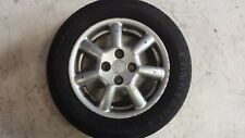 "Toyota Genuine 14"" Alloy Wheel Rim 14x5.5J 4 Stud with Tyre 175/65 R14"