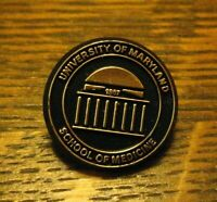 University Of Maryland School Of Medicine Lapel Pin - Vintage MD Medical USA Pin