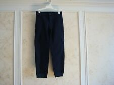 Nwt $39 Janie And Jack Boys Canvas Jogger Pants 7 Navy