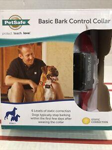 PetSafe Basic Bark Control Static Dog Collar Stop Barking Small Med Large Dogs