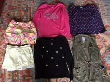 Lot of Children's Clothing Girls 7/8 shirt long short shorts Faded Glory