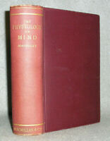 Antique Psychology Medical Book Physiology of Mind Maudsley Nervous System 1876