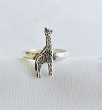 Ring ! Brand New ! Sterling Silver (925) Adjustable Giraffe Toe