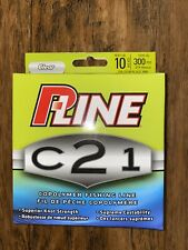 P-Line C21, 10 Lb. 300 yds Clear Copolymer Fishing Line