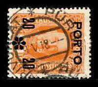 "AUTRICHE / AUSTRIA 1918 Mi.P62 used ""KRIVOKLAT * PÜRGLITZ /c"" (Bohemia / Czech.)"