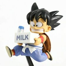 Dragon Ball Z Kid Goku Milk Delivery Childhood Ver. PVC Action Figure Figurine