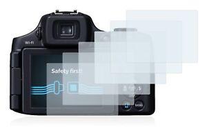 Canon Powershot SX60 HS , 6 x Transparent ULTRA Clear Camera Screen Protector