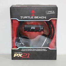 Turtle Beach Ear Force PX21 Câblé PS3 Xbox 360 & PC Mac Gaming Casque - Vgc