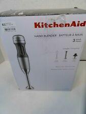 KitchenAid 3-Speed Immersion Hand Blender KHB2351cu Silver blend chop crush Mix