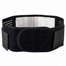 Magnético Doble Tirón Self Calor Espalda Baja Brace Cinturón apoyo lumbar alivio del dolor