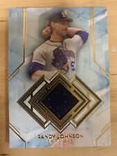 2020 Diamond Icons Randy Johnson Game Used Relic 5/10! Mariners