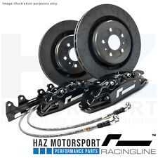 RacingLine Monoblock Performance Big Brake Upgrade Kit VW/Audi/Skoda/Seat BLACK