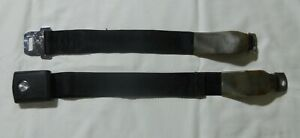 1966 - 67 Ford Mustang Seat Belts  Black OEM