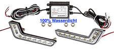 2x TOP L-Form LED Tagfahrlicht R87 Modul 6000K 100% Wasserdicht TÜV FREI Smart