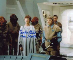 STAR WARS Caroline Blakiston Mon Mothma Autograph AFTAL & UACC 'Choice of 2'