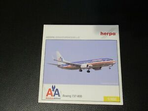 Herpa 1:400 American Airlines 737-800WL Excellent Condition in Box