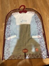 """Gotz Doll Boy Outfit For 19� Doll Blue Says """"Baby� New"""