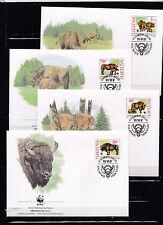 Lithuania 1996 - Eerstedag Envelop / FDC - Dieren / Animals / Tiere  (WWF / WNF)