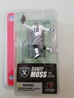"McFARLANE TOYS RANDY MOSS 3"" TALL 2ND EDITION 2005 ACTION FIGURE NEW IN BOX"
