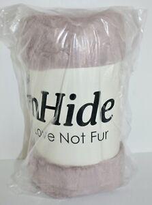 NWT UnHide Lil' Marsh Blanket Throw Rosy Baby Pink Medium 60 x 80