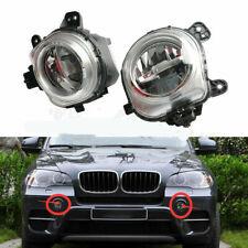 Front Left+Right Bumper Fog Light Lamp LED For BMW X3 F25 X4 F26 X5 F15 F85