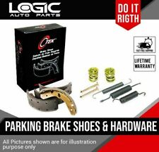 Parking Brake Shoes + Hardware For Ford 250 F350 SuperDuty Dodge Ram 2500 3500