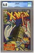 X-Men 64 (CGC 6.0) 1st app. Sunfire; Heck art; Buscema cover; Marvel; 1970 (6782