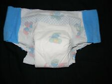 1 Vintage  plastic Baby Toons size 6 over 35+Lbs with pull-ons fit 32 in waist.