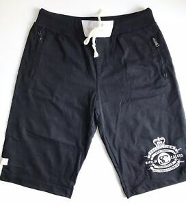 Dolce & Gabbana Sweat Shorts, Black - White, Size XL (50), Exc Condition