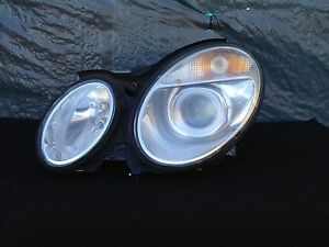 MERCEDES W211 E500 E320 E350 E55 LEFT BALLAST XENON HEAD LIGHT ASSEMBLY OEM