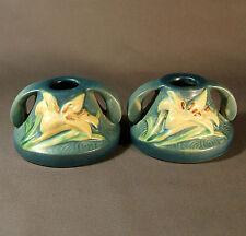 Fine pr de Roseville chandeliers-Zephyr Lily Pattern