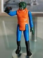 Vintage Star Wars Ponda Baba Figure G.M.F.G. 1978 Walrus Man and Blaster