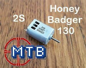 Honey Badger MTB 2s 6V 130 for Nerf Blaster Motor Rapidstrike, Stryfe, Modulus