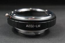 AIG-LM Adapter Nikon G D F lens to Leica M LM Camera M240 M10 TECHART LM EA