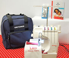 """Gritzner Overlock 788 in der CreArtista """"All you need"""" Super-LED-Edition+Tasche"""
