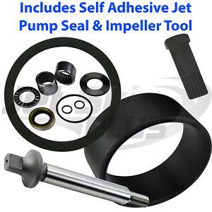 SeaDoo Jet Pump Rebuild Kit w Wear Ring Seal Shaft & Tool MANY GTI GTX GSX GS