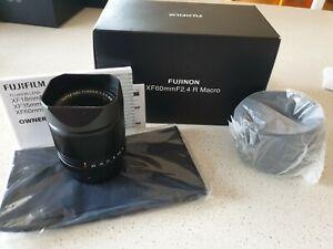 Fujifilm xf 60mm F2.4 lens