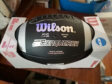 Wilson Junior Size Football Ncaa Bronze Series Age 9+