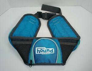 Outward Hound Waist Pack Walking Dog has 2 Storage Pockets & Water Bottle Pocket