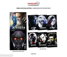 X-Men:Days Of Future Past 3D+2D BluRay KimchiDvd Collection Lenticular Steelbook