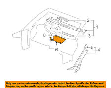 Chevrolet GM OEM 05-13 Corvette Sunvisor-Sun Visor Right 23142245