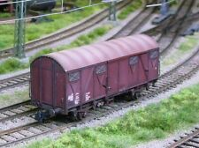 ROCO HO scale ~ DR BOX CAR #3 ~ WEATHERED and BOXED # 56068