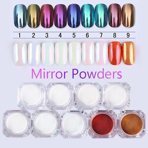 BORN PRETTY Mirror Powder Glitter Dust Chrome Pigment Nail Art DIY Varnish