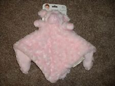 Blankets & and Beyond Pink Lamb Sheep Security Blanket Nunu Lovey Swirl NWT RARE