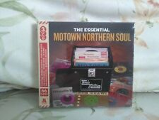The Essential Motown Northern Soul 3xCds (2018) - New - Free UK Postage