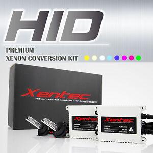 Acura TL 1995-2014 Headlight Fog Light Xenon HID Slim Kit D2S D2R 9005 White 6K