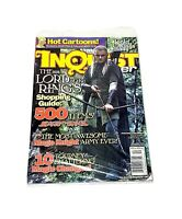 Inquest Gamer Magazine Dec 2001 Lord of the Rings #80 Sealed