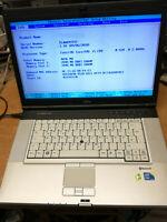 "Fujitsu LifeBook E780 15,6"" Intel i5-M520 4GB 320GB WLAN serielle Win7 Pro#3748"